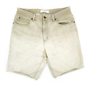 LL Bean Jean Shorts Men's Size 33 Brown Double L